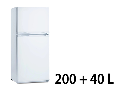 Frigo stand 200+40 Lt con celletta congelatore